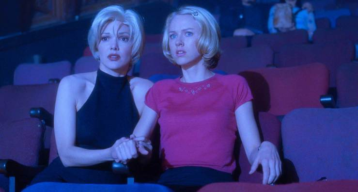 Rita and Betty are frightened in Mulholland Drive