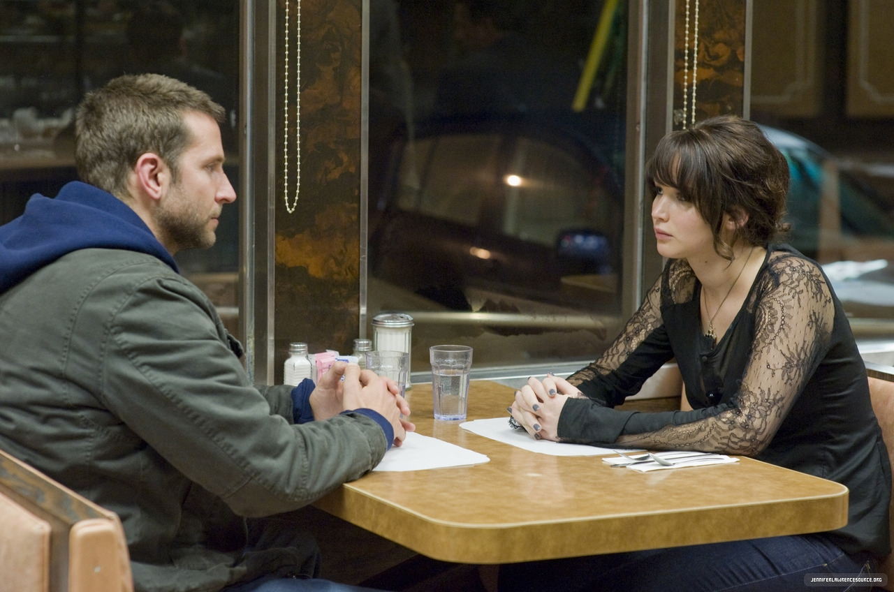 Pat and Tiffany connect in Silver Linings Playbook