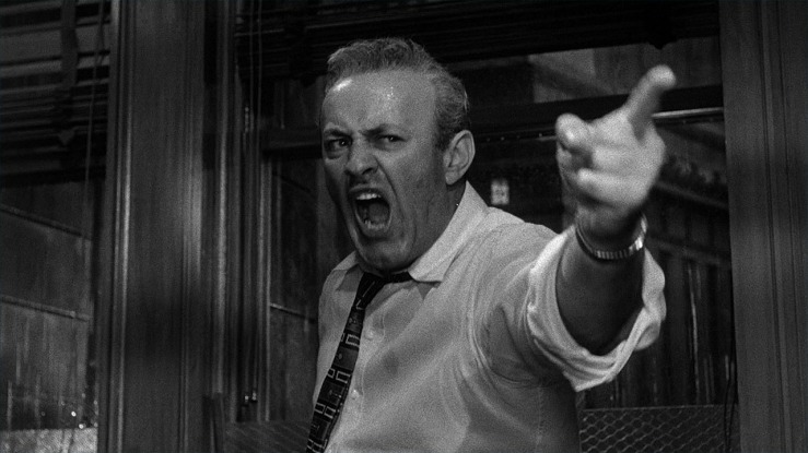 Juror #3 shouts in 12 Angry Men
