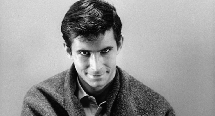 Norman Bates in Psycho