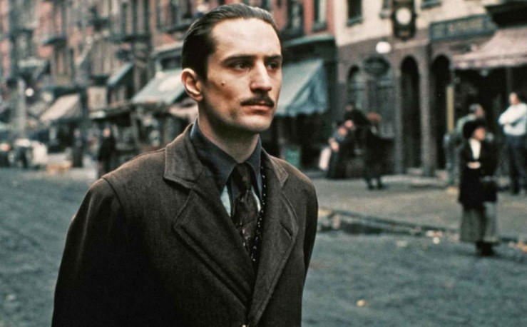 Young Vito Corleone in The Godfather: Part II