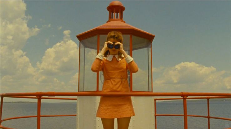 Suzy in an artistic shot from Moonrise Kingdom