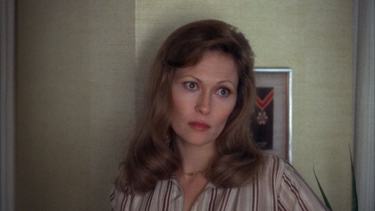 """Diana Christensen gives her """"serious"""" look in Network"""