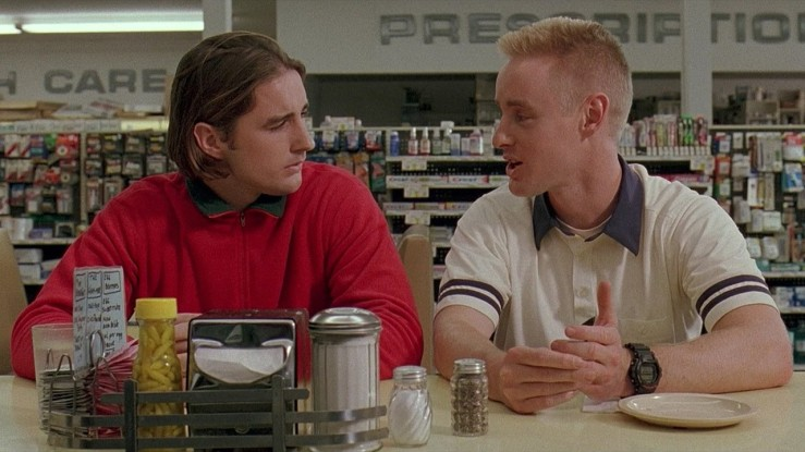 Dignan and Anthony chat in Bottle Rocket