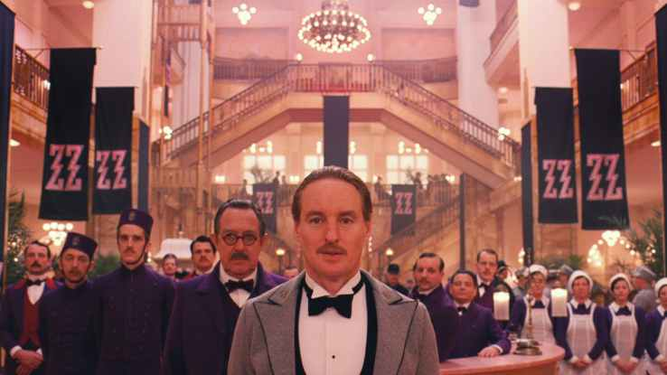 M. Gustave and the staff of the Grand Budapest Hotel