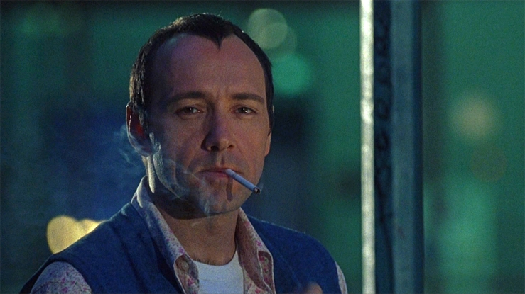 Kevin Spacey as Verbal Kint in The Usual Suspects