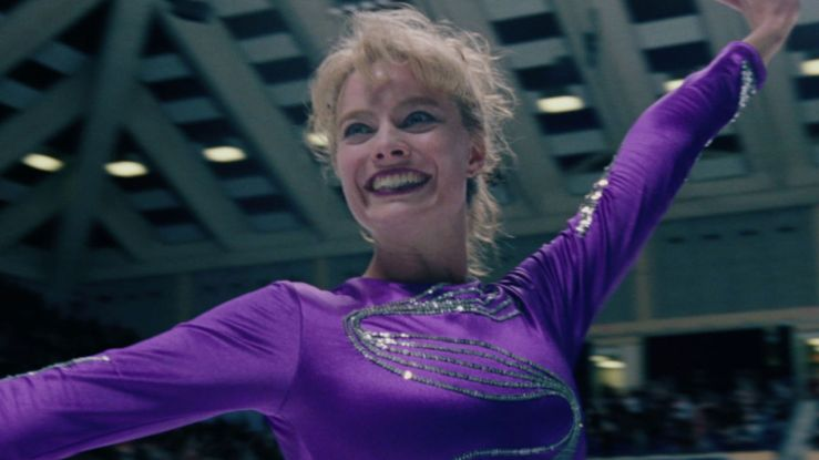 Tonya Harding strikes a pose in I, Tonya