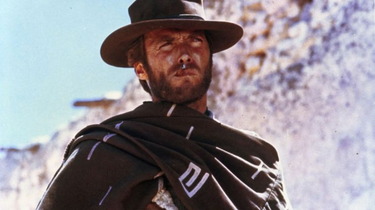 Clint Eastwood, looking cool in A Fistful of Dollars
