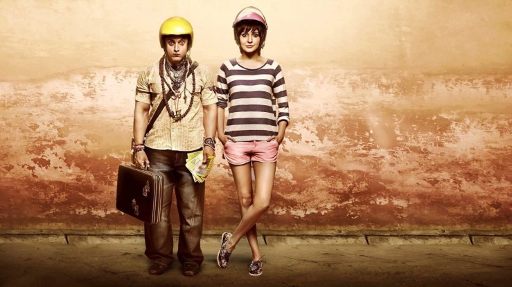 PK and Jaggu pose in PK