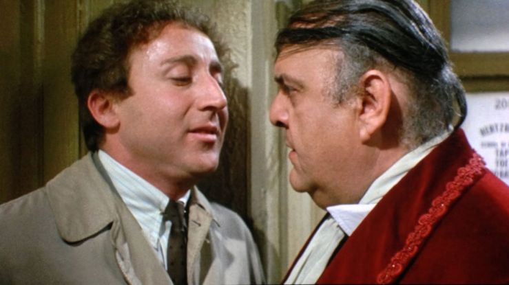 Leo and Max chat in The Producers