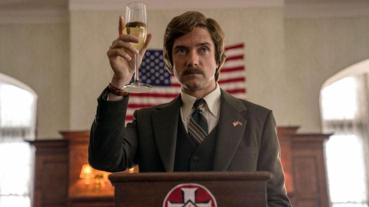 David Duke raises a glass in BlacKkKlansman
