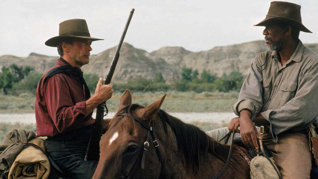 Bill Bunny and Ned Logan in Unforgiven