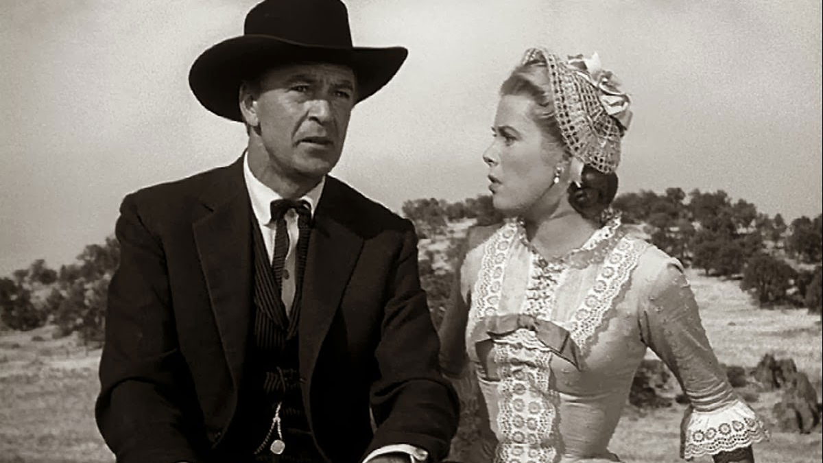 Will Kane and Amy ride a wagon together in High Noon
