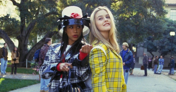 Cher and Dionne looking posh in Clueless (1995)
