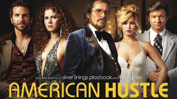 The main cast of American Hustle